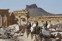 Skal ha funnet massegrav i Palmyra