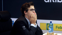 Carlsen maktet ikke presseVachier-Lagrave med hvit:– Pinlig