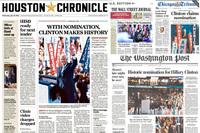 Hillary Clinton skapte historie, men ektemannen Bill stjal showet