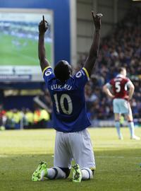 Målmaskinen Lukaku tangerte Cristiano Ronaldo i Everton-seier