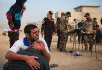 Store lidelser i Mosul: En million sivile fanget i kryssilden