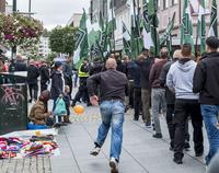 Høyreeksteme kan bli straffeforfulgt etter demonstrasjon i Kristiansand