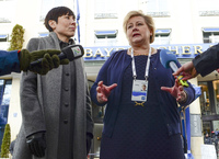 Erna Solberg kaller den russiske kritikken for propaganda