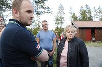 Erna besøkte ulve-ofrene: - Dødsulven skal skytes