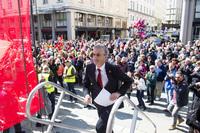 Slaget om Vestlandet: Jonas starter valgkampen i Bergen