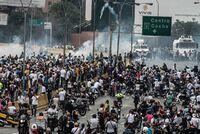 Mann skutt og drept under demonstrasjon i Venezuela