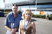 Ekteparet jobber på Rygge: – Vi kommer til å stå helt uten lønn om flyplassen legges ned