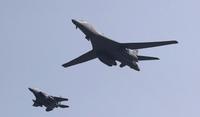 USA demonstrerte styrke overfor Nord-Korea