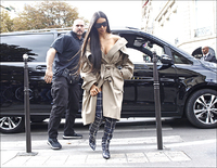 Kardashians livvakt konkurs: Har fjernet alle Kim-spor