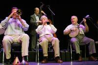 Woody Allen-konsert avbrutt av toppløs-aktivister