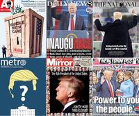 Forsidene dagen derpå - dette skriver avisene om USAs nye president