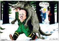 Ulven splitter Venstre
