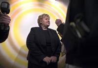 Ap krever svar: Avslørte Erna Solberg en hemmelighet i Stortinget?