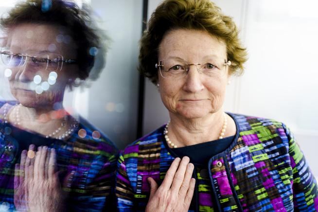 <p>LOVENDE: Spark-direktør Kathy High har stor tro på fremtiden. Hun mener deres behandling av øyesykdommer bare er starten på genmedisin-eventyret.</p>