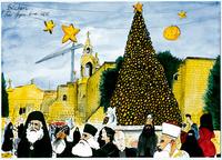 Betlehem er ingen idyll.    Betlehem er brutal virkelighet.