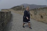 Erna Solberg: Kina-turen er en suksess