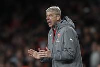 Lyste opp«Wenger Out» på Arsenals hjemmearena