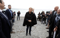 Innvandringskritiske Le Pen til VG:– Dette går bra!