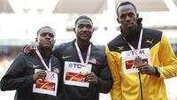 Flyttet Gatlins gull-utdeling etter Bolt-sjokket  – buet ut på pallen