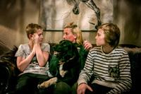 Hunden Ludvig (8) ble drept og spist av ulv bare 40 meter fra husveggen