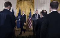 NATO-sjef Stoltenberg     starter våpen-spleiselag