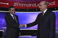 Franske presidentkandidater møttes i første TV-duell