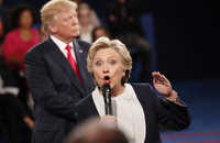 Trump til Clinton:– Du burde vært i fengsel
