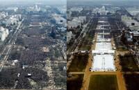 Presidentinnsettelsen i 2009 og 2017: Sjekk forskjellen!