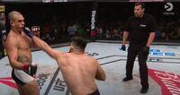 Gastelums stjerneknockout stilnet UFC-publikumet i Brasil