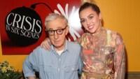 Miley Cyrus tar Woody Allen i forsvar