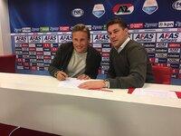 Svensson klar for AZ Alkmaar:– Alle snakker om Premier League og sånn