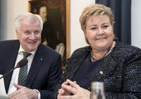Merkel vil lære om norsk asylpolitikk