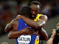 Bolt: Gatlin har sonet straffen
