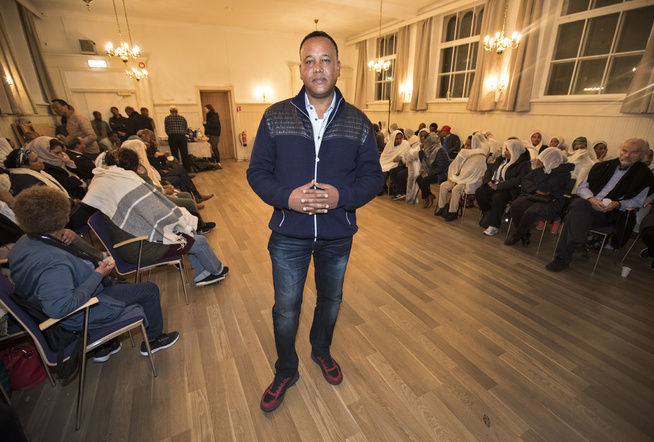 <p> AT MINEST TEST: Solomon Habtay visited the three women as late as this summer. On Friday evening he was in memory of Sofienberg church house. </ P>