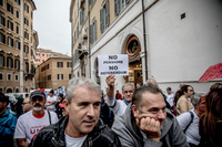 Italiensk protestparti kan velte regjeringen