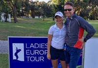 Golf-sensasjon av 16-åring:– Pappa er caddie