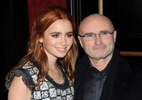 Phil Collins tilgitt av datteren