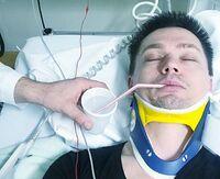 Ailo Gaup på sykehus