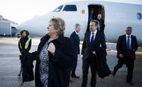 Erna til Kina med gigant-delegasjon