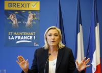 Marine Le Pen flørter med fransk EU-exit– professor tror ikke hun mener alvor