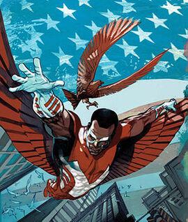 <p>INTERESSERER IKKE MACKIE: Tegneserie-versjonen av Falcon, her i serien Rogue #2 fra 1995.</p>