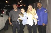 Lykkelig «Hollywoodfrue» etter husbrannen: – Katten vår lever