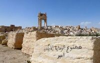 Slik ser oldtidsbyen ut etter nesten ett år under IS-kontroll