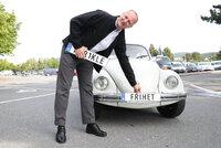 For 9.000 kroner kan du nå få ditt personlige bilskilt