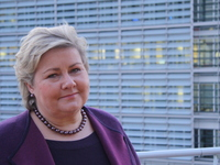 Solberg: Avmålt optimisme i EU