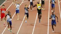 Superdrama da Bolt ble skadet i sitt siste løp – britisk gull