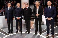 Mot valgthriller i Frankrike: Dødt løp mellom tre kandidater