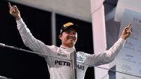 Rosberg ble VM-mester foran Hamilton