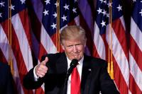 Bare én av åtte nordmenn tror på Trump