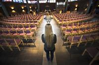 Norsk kvinne flyktet i kirkeasyl